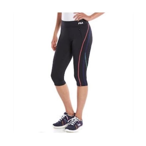 ae81839a377b Fila Pants | Nwt Sport Skimmer Crop Leggings | Poshmark